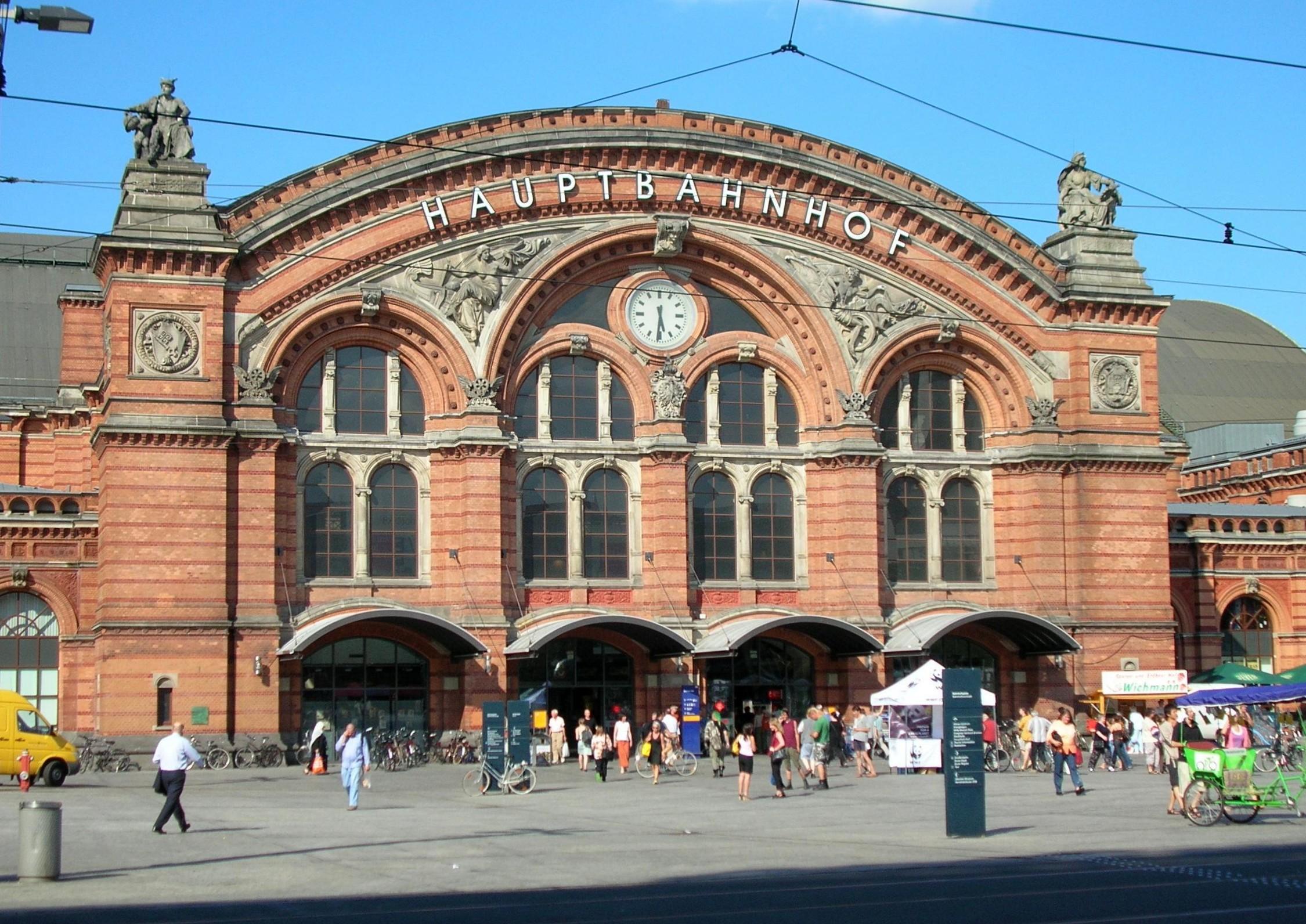 Read more about the article Entwurfsvermessung Hauptbahnhof Bremen