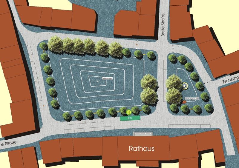 Read more about the article Marktplatz in Delitzsch