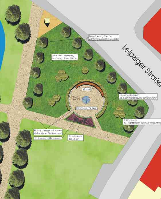 Read more about the article Planung des Schwanenteichparks in Grimma