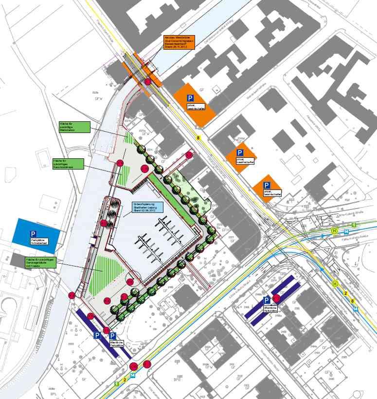 Read more about the article Verkehrskonzept Stadthafen der Stadt Leipzig