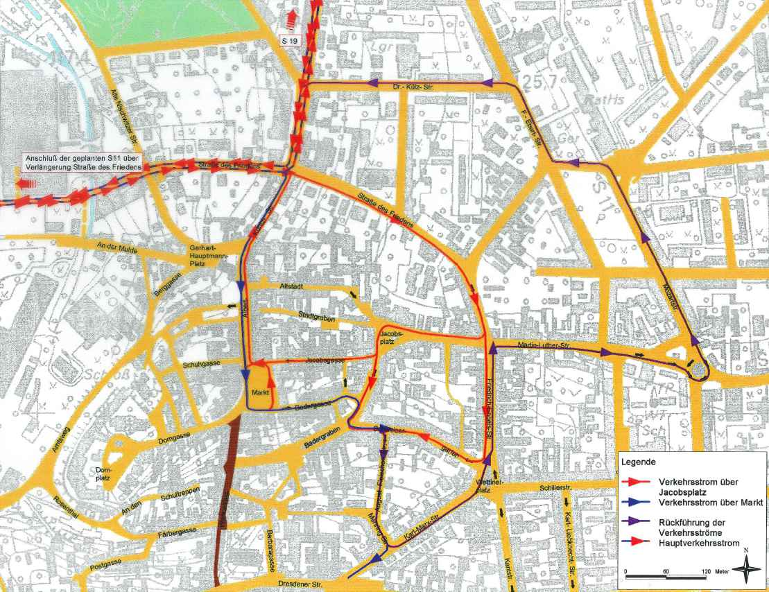 Read more about the article Verkehrsleitsystem der Stadt Markkleeberg