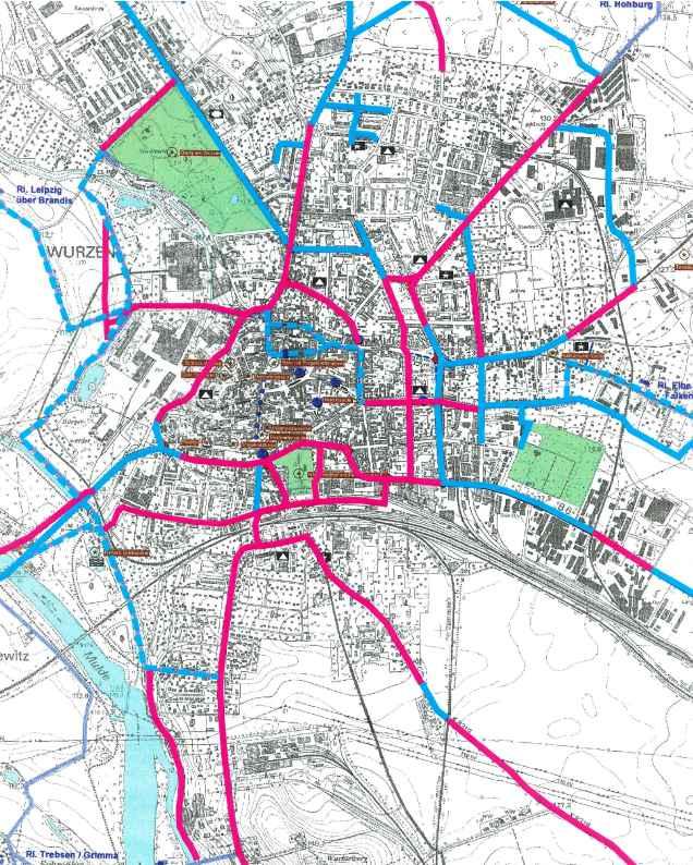 Read more about the article Verkehrskonzeption: Integriertes Stadtentwicklungskonzept für die Stadt Wurzen